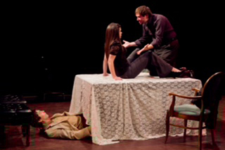 Actors make the play in UIS Theatre's Tartuffe