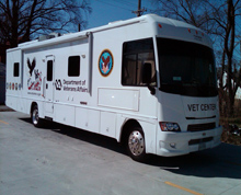 Serving those who serve the nation: Mobile Vet Center visits UIS