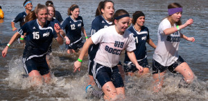 Taking the plunge: UIS students participate in Polar Plunge to raise money for Special Olympics