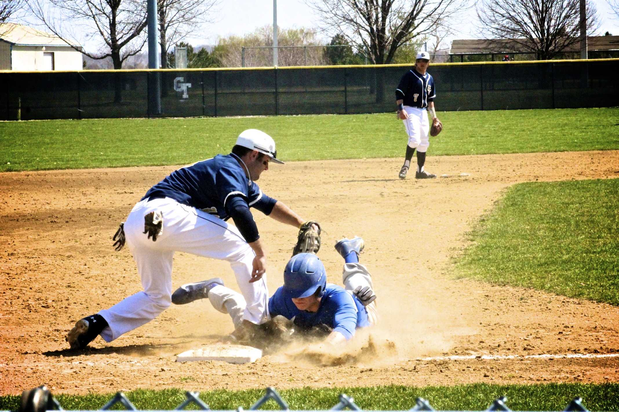 Baseball swept by Rockhurst in three out of four games