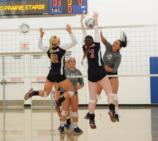 Volleyball wins conference opener