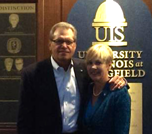 UIS honors distinguished alumnus Richard Osborne