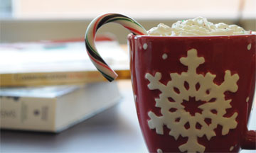 A twist on classic holiday drinks